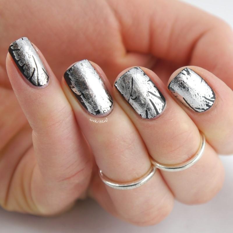 Rockstyle Nails nail art by Ann-Kristin