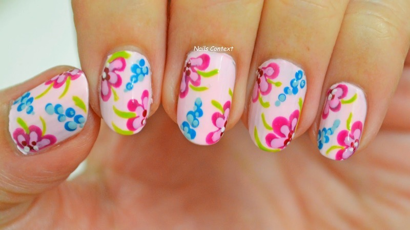 SPRING is HERE nail art by NailsContext