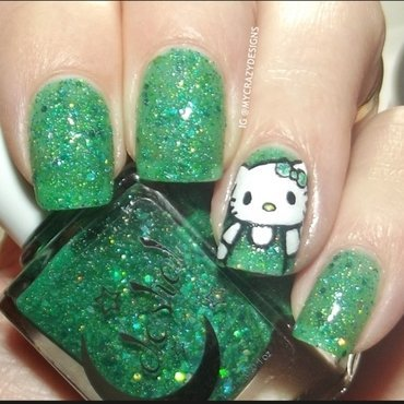 Celestial Cosmetics Comet Lulin Swatch by Mycrazydesigns