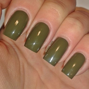 Sally Hansen Complete Salon Manicure #833 Loden green Swatch by Ewa