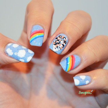Around the world in 80 days  nail art by Sweapee