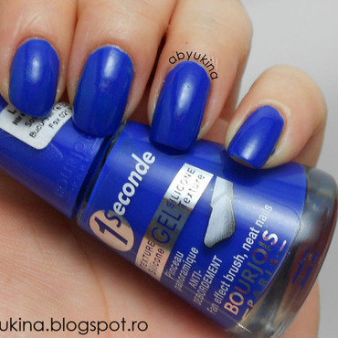Bourjois 1 Seconde In the Navy Swatch by Aby