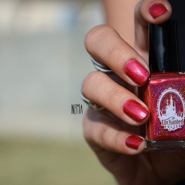 Enchanted Polish July 2014 Swatch by nehmaah