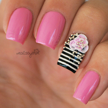 Prison Princess nail art by xNailsByMiri