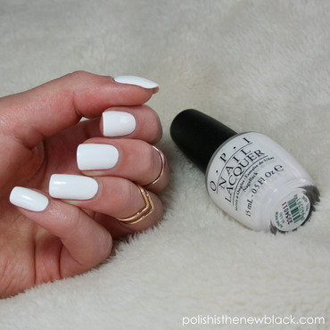OPI Alpine Snow Swatch by Polishisthenewblack