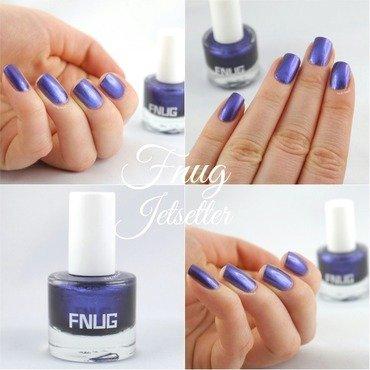 FNUG Jetsetter nail art by Ann-Kristin