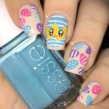 Easter Nails! nail art by PolishIsSweet