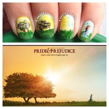 Pride and prejudice  nail art by Sarah Bellwood
