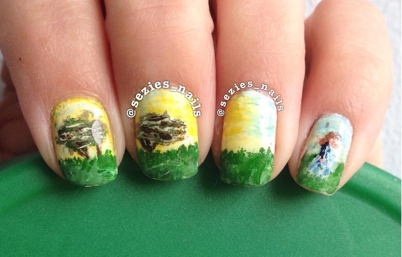 Pride and prejudice  nail art by Sarah Bellwood
