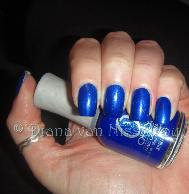 Orly Royal Navy Swatch by Diana van Nisselroy