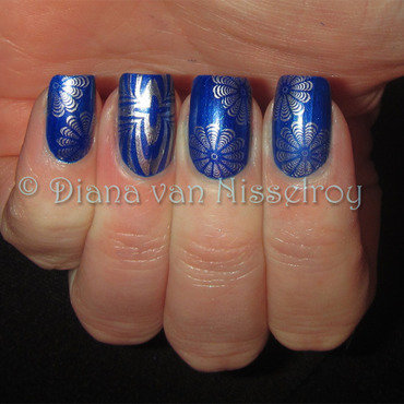 MSMD from Nicky Nailslove nail art by Diana van Nisselroy