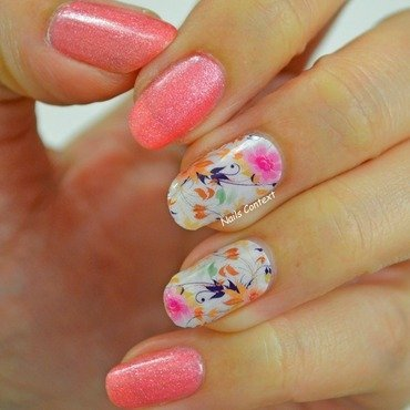 Jamberry Nail Wraps nail art by NailsContext