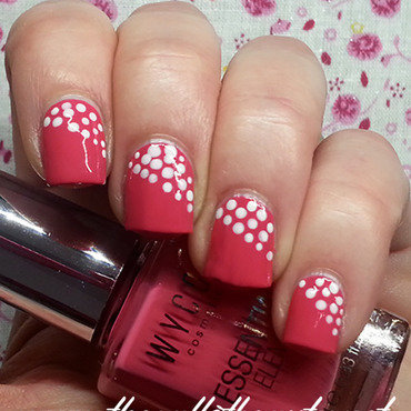 Pink Dotticure nail art by The Call of Beauty