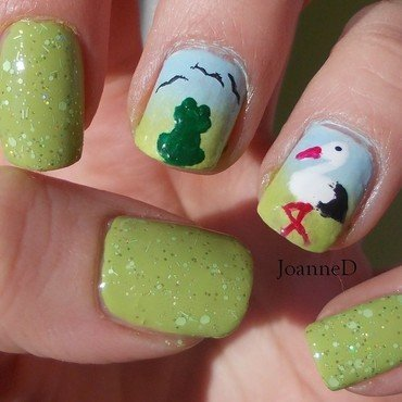Spring is coming nail art by JoanneD