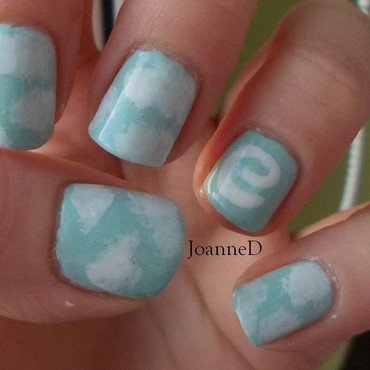 Air nail art by JoanneD
