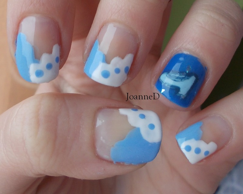 Cinderella nail art by JoanneD
