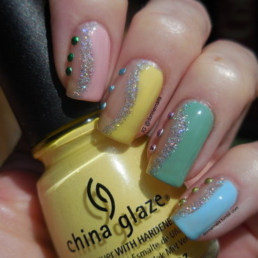 Easter nail art by Donner