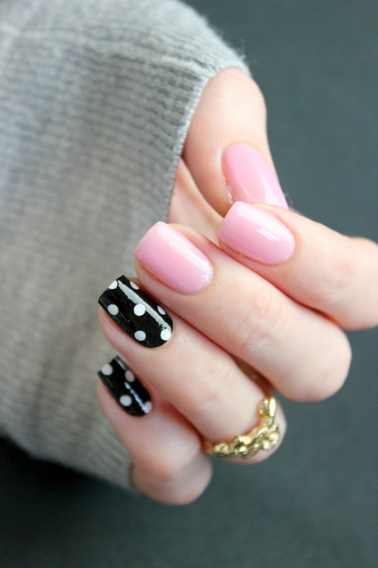 Dots and Jelly nail art by Jen from polished-with-love