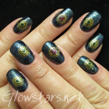 Featuring Born Pretty Store Nail Art Stickers nail art by Vic 'Glowstars' Pires