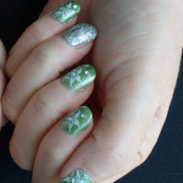 Green 20with 20silver 20  20stamping thumb370f