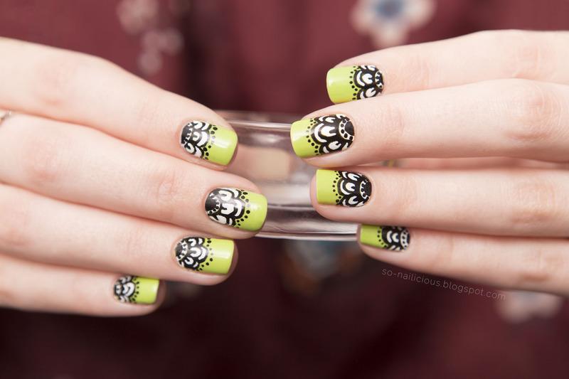 Spring nail art by Magdalena