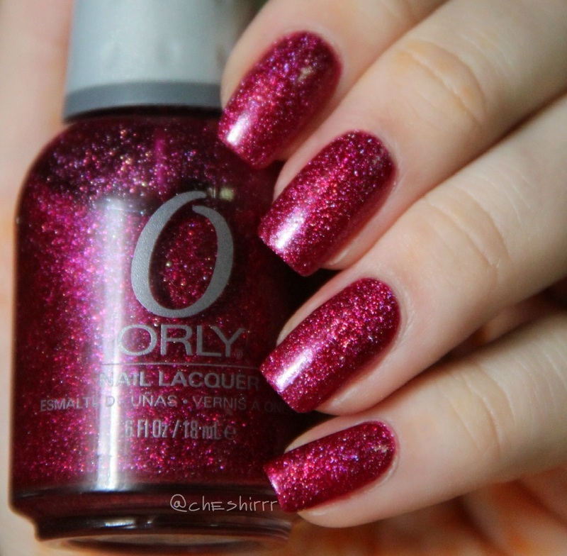 Orly Miss Conduct Swatch by cheshirrr
