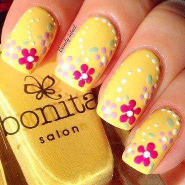 spring Nails nail art by Beauty Intact
