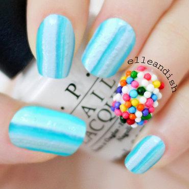 April Fool's Day: Fun & Minty Fresh Nails nail art by elleandish
