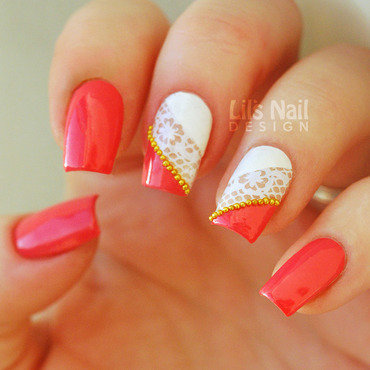Lacey Love Nails nail art by Lily-Jane Verezen