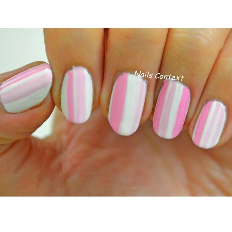 Feeling Pink nail art by NailsContext