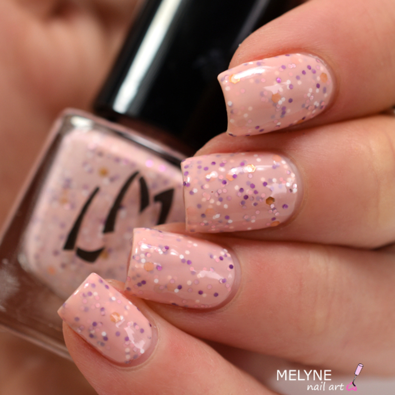 LM Cosmetic Histrion Swatch by melyne nailart