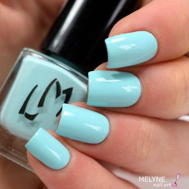 LM Cosmetic Mintcream Swatch by melyne nailart