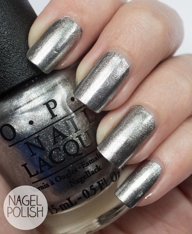 OPI Haven't the Foggiest Swatch by Nagel Polish