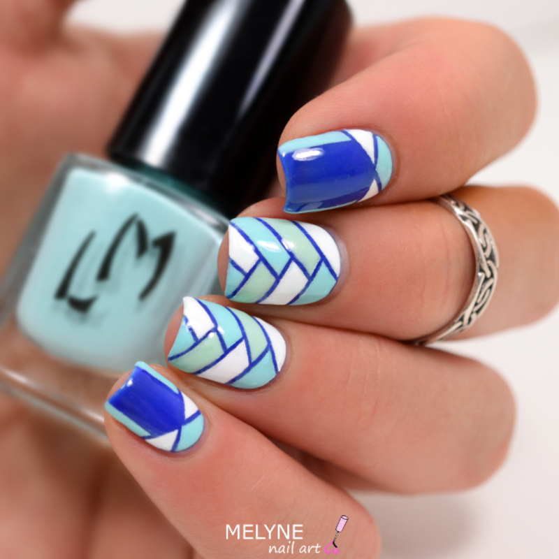 Braid nails and geometric ruffian nail art by melyne nailart braid nails and geometric ruffian nail art by melyne nailart prinsesfo Images