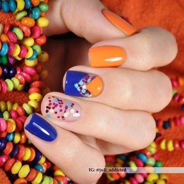 #91 nail art by Juli