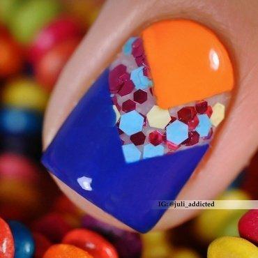 #91-2 nail art by Juli