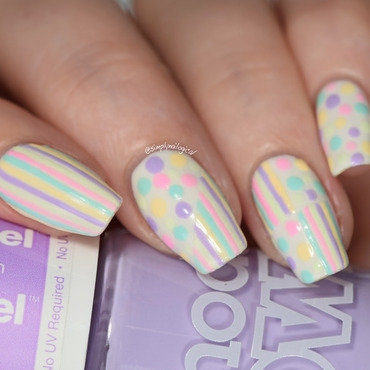 Mix & match pastel nails nail art by simplynailogical