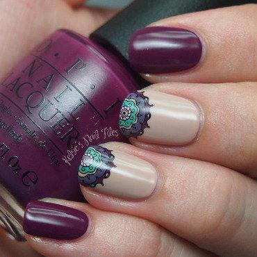 Mandala Nail Art nail art by Kelsie