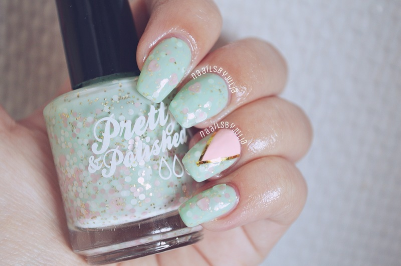 Pretty & Polished My Best Invest-mint Swatch by Julia