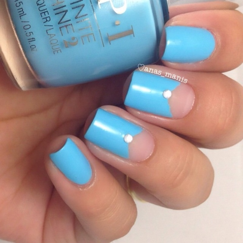 OPI Infinite Shine To Infinity & Blue-yond Swatch by anas_manis ...