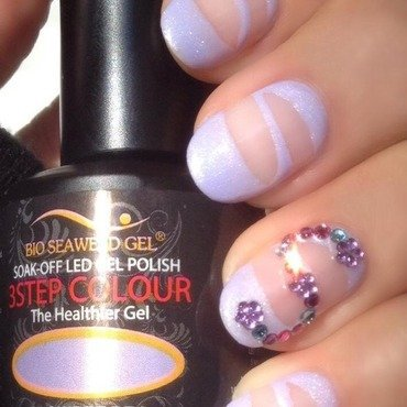 Spring Slipper nail art by Angela Zeleny