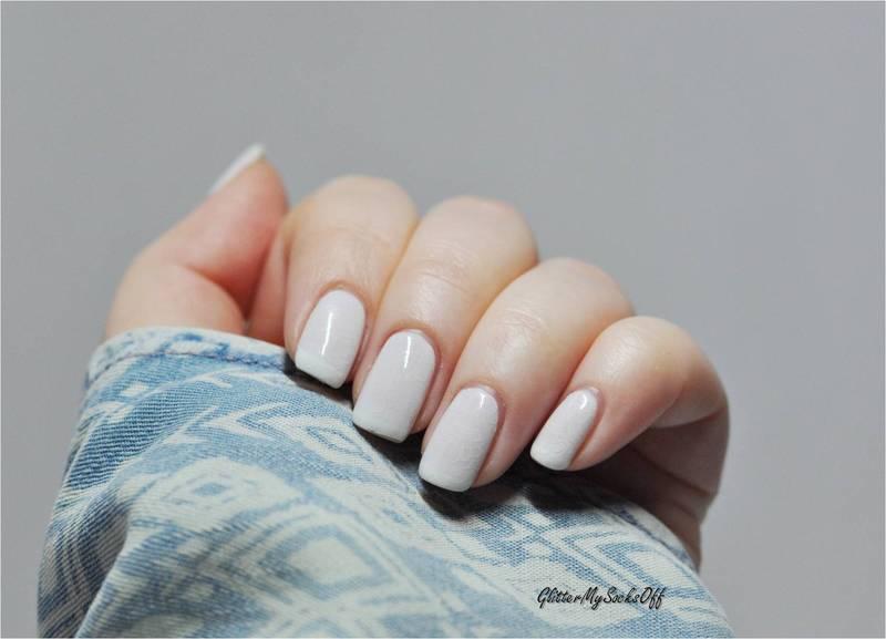 Lacy shyness nail art by GlitterMySocksOff