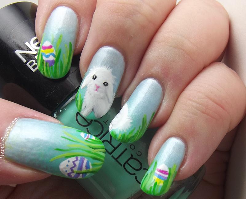Easter Bunny Nails nail art by Ithfifi Williams