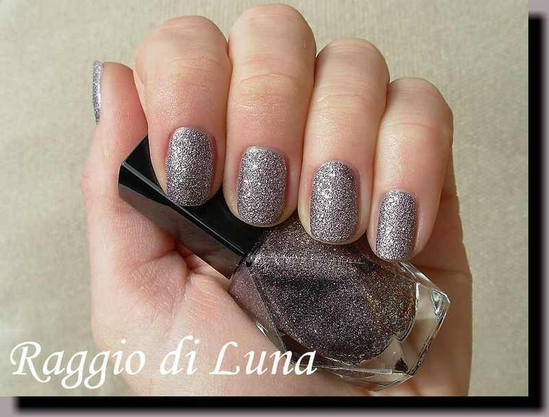 Avon Stardust Silver Crystals Swatch by Tanja