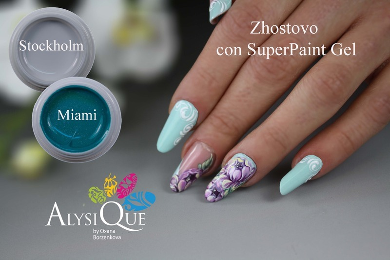Zhostovo Nails Nail Art By Oxana Borzenkova Nailpolis Museum Of