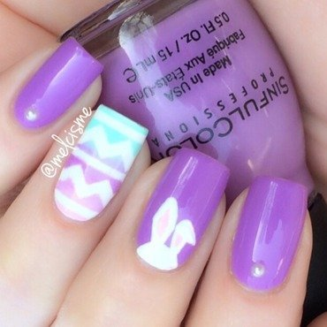 My Easter nails  nail art by Melissa