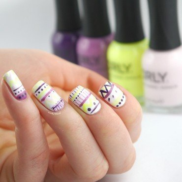 Sugar High Easter Nails nail art by Ann-Kristin