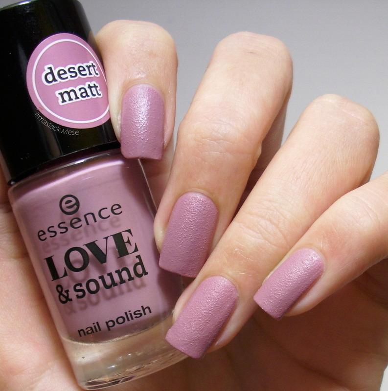 essence Love & sound glastonberry Swatch by irma