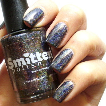 Smitten Polish cauldron of rainbows Swatch by irma