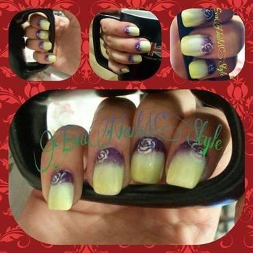 the spring nail art by Ewa EvaNails
